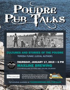 Poudre Pub Talk: Cultures and Stories of the Poudre @ Maxline Brewing | Fort Collins | Colorado | United States